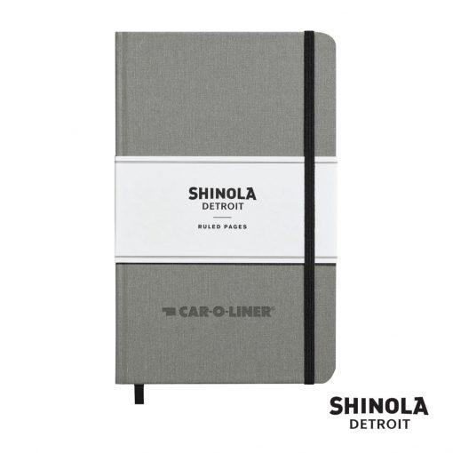 "Shinola® HardCover Journal - (M) 5¼""x8¼"" Light Gray"
