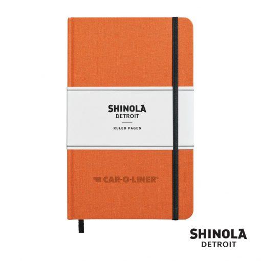 "Shinola® HardCover Journal - (M) 5¼""x8¼"" Orange"