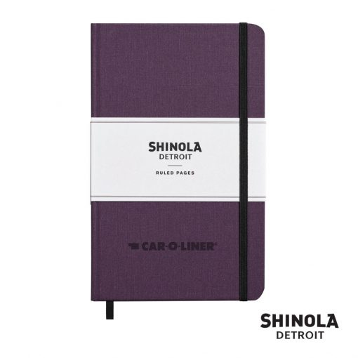 "Shinola® HardCover Journal - (M) 5¼""x8¼"" Purple"