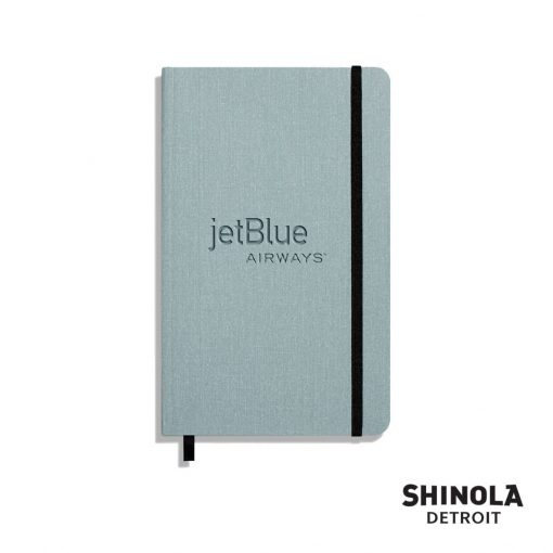 "Shinola® SoftCover Journal - (M) 5¼""x8¼"" Harbor Blue"