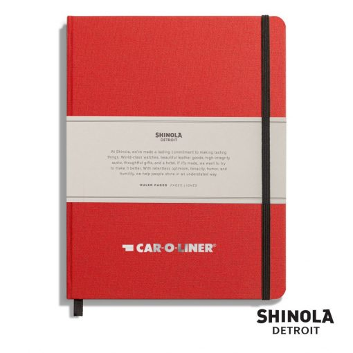 "Shinola® HardCover Journal - (L) 7""x9"" Ablaze"