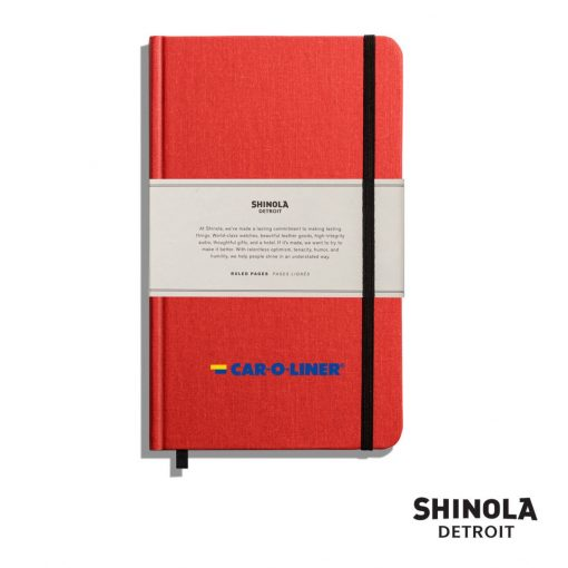 "Shinola® HardCover Journal - (M) 5¼""x8¼"" Ablaze"