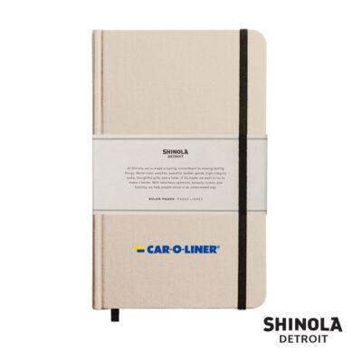 """Shinola® HardCover Journal - (M) 5¼""""x8¼"""" Cream"""