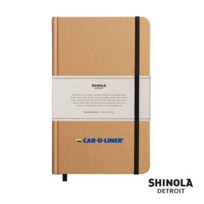 """Shinola® HardCover Journal - (M) 5¼""""x8¼"""" Wheat"""